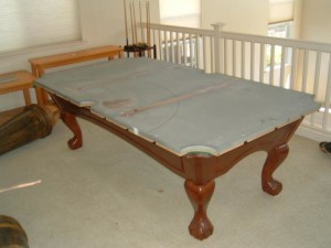Proper pool table moving process in Alamo Heights Texas